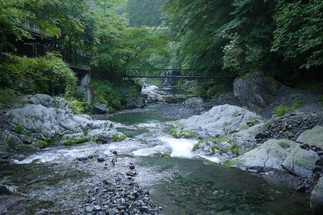 秩父・三峰口の先の「大血川渓流釣り場」で<br />鱒釣りにチャレンジしてきた。。。<br />ってか、あまりにも毎日が暑いので、<br />涼みに行っただけかも。。。(笑)<br /><br />