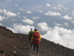 須走口から富士山にのぼる