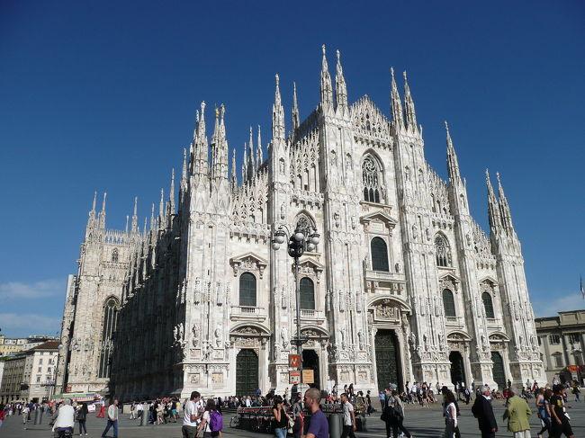 イタリア鉄道旅行、最高!- ミラノ街歩き