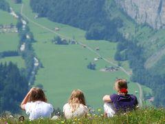 スイス・イタリア旅行2010 ③ スイス ヴェンゲンとメンリッヒェン