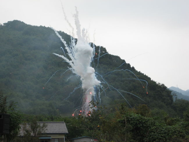 埼玉県の秩父市吉田町にある椋神社で行われるロケットをブチあげる龍勢祭りと呼ばれる祭りがあるらしい。<br />早朝、仕事を片付け いざ秩父へ!!