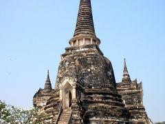 タイ アユタヤ世界遺産旅行記 ワット・プラ・シー・サンペット寺院&ビュッフェ形式ランチ編