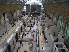 2008GW フランス ドライブとパリ美術館めぐり3:オルセー美術館