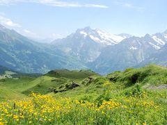 スイス・イタリア旅行2010 ④ スイス メンリッヒェン~クライネシャイデック ハイキング