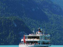 スイス・イタリア旅行2010 ⑥ スイス ヴェンゲン⇒ブリエンツ湖⇒ルツェルン  スイス中央部の山に囲まれた湖たち
