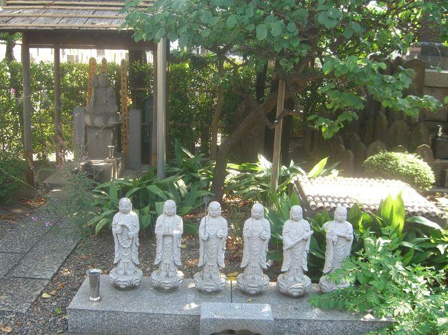 JR品川駅より徒歩で 旧街道沿いに寺社や名所旧跡を巡りながら区立品川公園へ