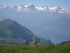 お天気まかせ、気ままにスイス一人旅【2】チューリッヒからリギ山へ