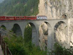 スイス・イタリア旅行2010 ⑧ スイス ルツェルン⇒ポントレジーナへ電車で移動
