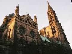 フランスの旅2006①ストラスブルグ大聖堂とコウノトリ France2006,  Strasbourg