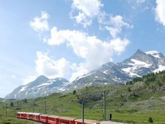 スイス・イタリア旅行2010 ⑨ スイス ポントレジーナ~モルテラッチ氷河~ベルニナ・ラグアルプ