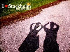 今年もストックホルムへ!(3) ~2日目~ ローゼンダールガーデンまでの道のり