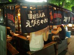フェリー+青春18切符・博多の夜はほんまに暑かった