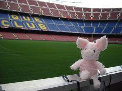 始まりはバルセロナ③大満足♪カンプ・ノウ・スタジアム