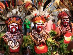 パプアニューギニアの旅 1・・旅いつまでも・・