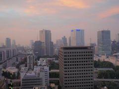 都市センターホテル シティビュー最上階デラックスツイン 千代田区平河町  東京弾丸ツアー