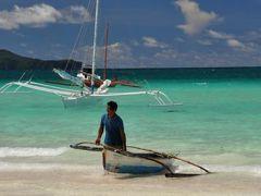 ボラカイ島!まさに真っ白なビーチと青い空と海に出会える島♪