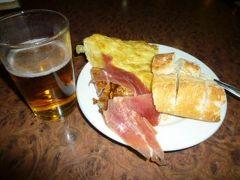 熟年パッカーひとり旅 スペイン食事事情
