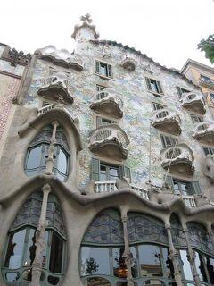 2010春39 スペイン(バルセロナ 建物めぐり)