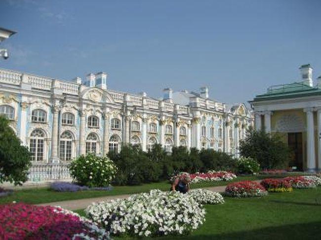 モスクワ3泊、サンクトペテルブルクに3泊、合計8日間の旅☆