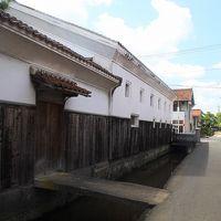 鳥取県・鳥取→倉吉(その3/3)★倉吉の白壁土蔵群と赤瓦のまちなみ