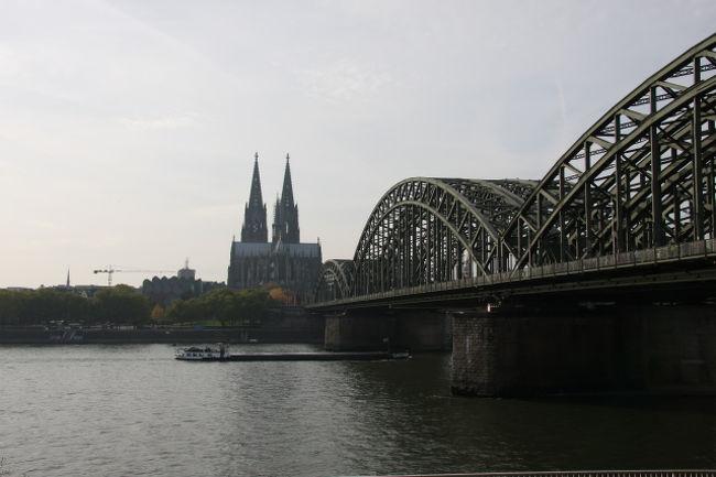 ドイツ&パリ一人旅 ①ケルン・ラ...