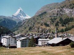 スイスの旅 1979年 その1(ツェルマット、氷河急行など)