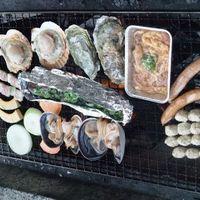 職場の同期と魚太郎浜焼きバーベキューとジョイフルファーム鵜の池みかん狩り