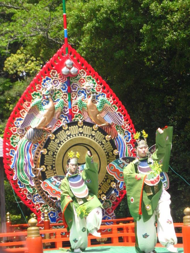 神恩に感謝を捧げ、国民の平和をお祈りする神楽祭。<br />春と秋、年に2回行われます。<br /><br />この日は、神苑で行われる神宮舞楽と神楽祭に合わせて公開される、神宮茶室、林崎文庫を見学してきました。<br />