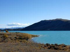 秋色に輝くニュージーランド ドライブ旅行<テカポ・マウントクック・ワナカ>その2 ミルキーブルーのテカポ湖満喫
