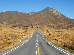 秋色に輝くニュージーランド ドライブ旅行<テカポ・マウントクック・ワナカ>その4 リンディス・パスを越えてワナカへ