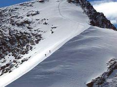Corvatch とFurtschellas へ上る 25  Switzerland