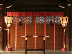 2010秋、下鴨神社(3):10月1日(3):境内、幣殿、三つ葉葵紋、舞殿、糺の森、祭祀遺跡、奈良の小川