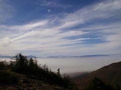雲の上を目指して(1)黒斑山(くろふやま)に登る