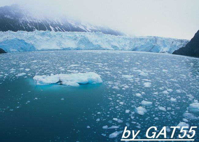 アンカレッジ滞在中に氷河巡りの日帰りボートツアーに行ってきました。<br />アラスカの5月はまだまだ寒い!<br />市内からbusで1時間の港から10時位に出発してサプライズ氷河、 コックス氷河、バリー氷河を周り夕方に市内に戻ってきます。<br />途中アザラシその他、海洋生物を近くで見ることがあるそうですが今回はなんもおらんだ!残念。<br />最初は雪山や漂う氷を見てワクワクしますがとにかく寒い!帰りはみんな船内で寝てた。<br />ツアー料金は100$ぐらいだったかな?(船から上陸することはありません)