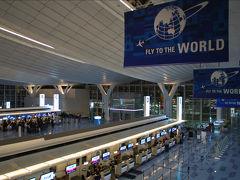 タイ・バンコク ロケハン旅行記1 2010年11月 国際線発着が増えたばかりの羽田空港 空港ラウンジ~出発