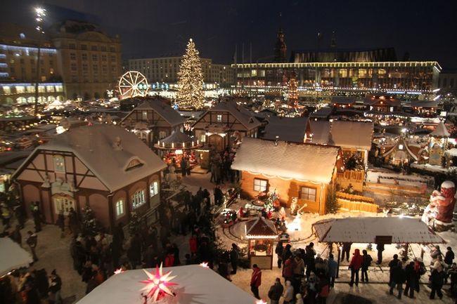 煌めきのクリスマス・マーケット − ドレスデン、Dresdner