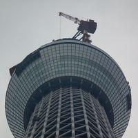 2010年12月7日東京探索?東京スカイツリー・東京タワー・月島もんじゃ(波照間お食事会)