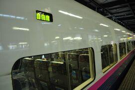 2010年12月北東北鉄道旅行1(東北新幹線八戸新青森間初乗り)