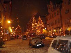 雪の南ドイツ クリスマス市巡り 2010年12月