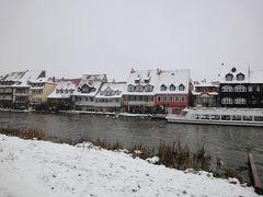 2度目のクリスマス イン ドイツ☆その3☆ バンベルク~世界遺産は白くぼやけて・・・