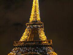 冬のパリ旅行(1) (1日目、2日目)