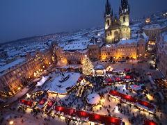 クリスマス一色のヨーロッパを巡る旅1 プラハ編