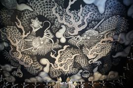 06. 京都 建仁寺の雲竜図