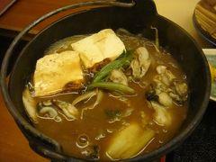 10. 広島で牡蛎の晩ごはん