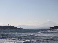 2010年大晦日江ノ島と富士山