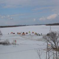 道央釣りの旅-2011-/爆釣、氷上ワカサギ釣りでスタートです