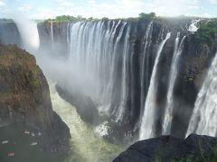 南アフリカで滝とサファリと喜望峰(3)-1国境自転車越えでザンビアからのヴィクトリア・フォールズ