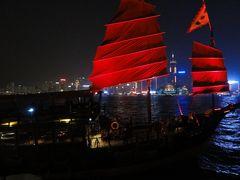 kaoleeの香港最後のジャンク船「アクアルナクルーズ」
