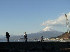 伊豆半島一周・富士山と駆け足湯めぐり①