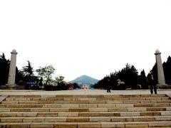 chi27唐高宗と則天武后の陵墓・「乾陵」と延々と続く一直線の参道